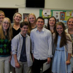 MPHS Celebrates 9 NHS Inductees