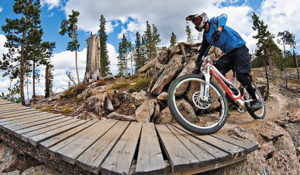 Trestle Bike Park, Photo Credit: Winter Park Resort