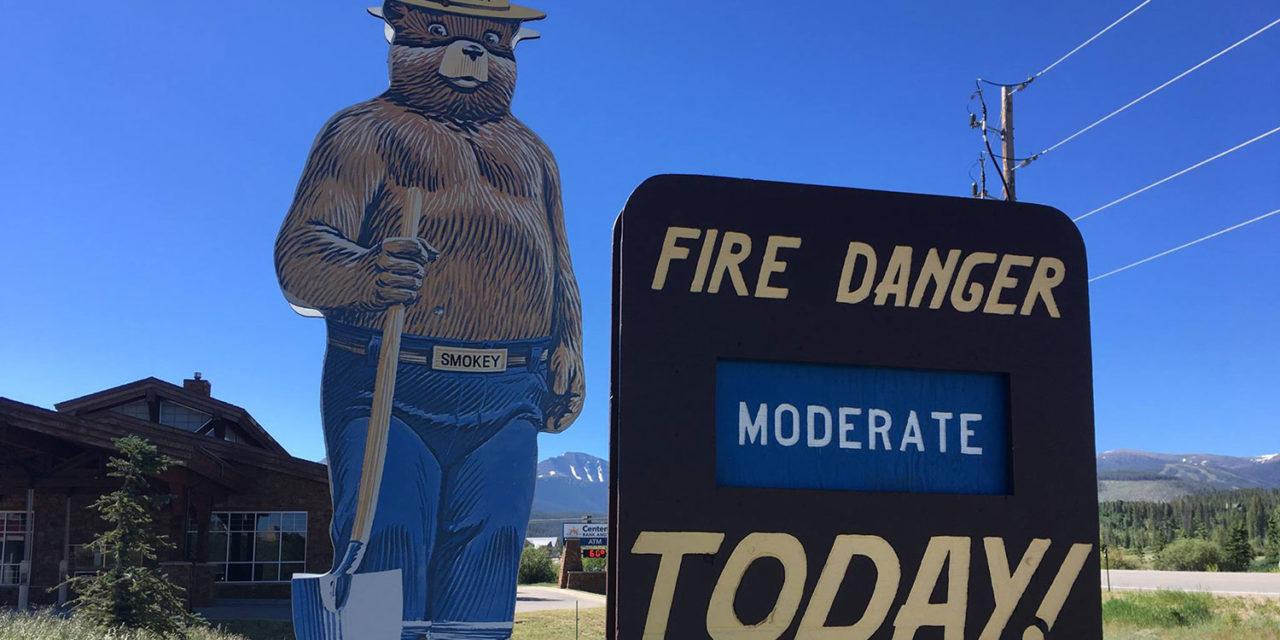 Start Of Fire Season Demands Caution