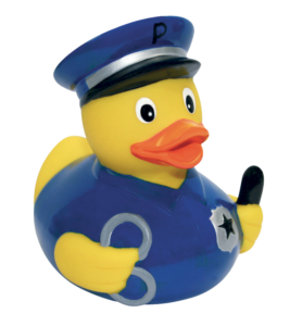rubber duck cop