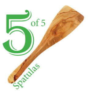 5 out of 5 spatulas