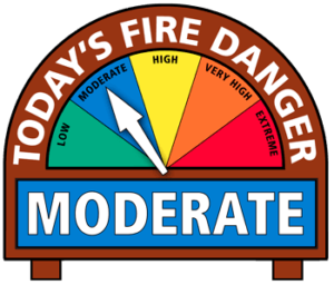 Moderate Fire Danger