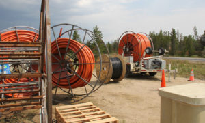 Fiber Optic Cable Ready to be installed