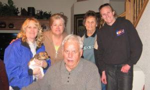 Jon de Vos and Family
