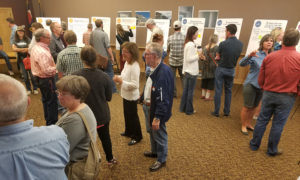 Interested citizens meet to discuss Winter Park's new master plan.