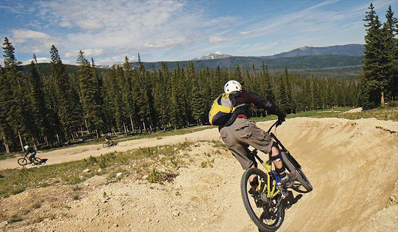 Biking Winter Park Resort