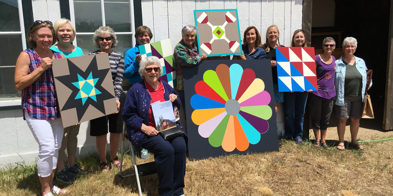Grand Quilt Trail: It's a wrap