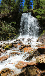 Snow Mountain Ranch Waterfall