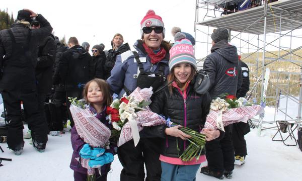 Kaya Shaw, Laurie Mooney and Bella Mooney