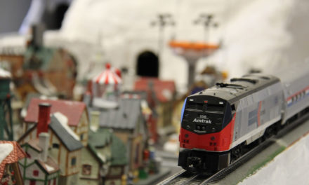 Model Railroad Club Christmas Train