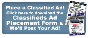 place a classifieds ad