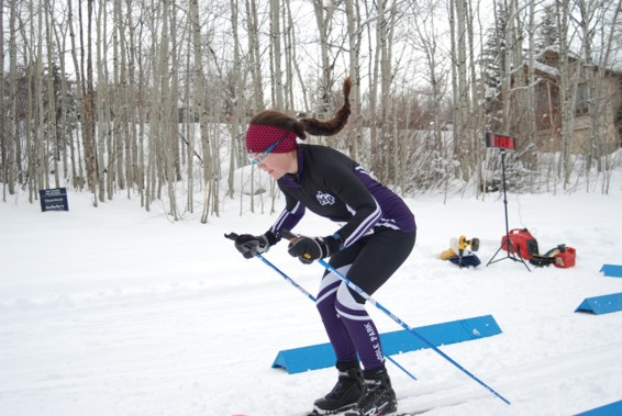 MPHS Nordic Team Conquers Tough Snow Conditions in Aspen