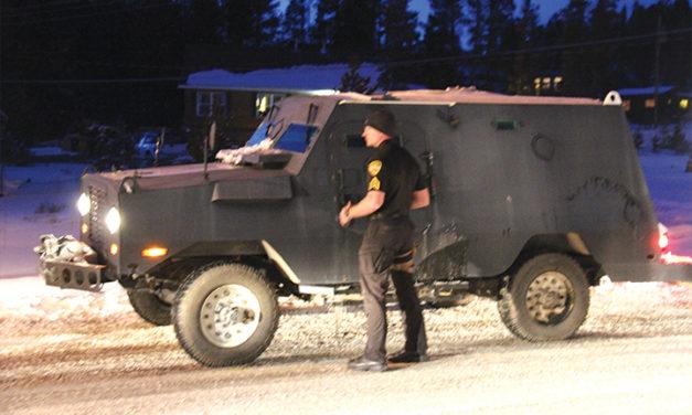 SWAT Team dispatched to Alta Vista Mobile Home Park