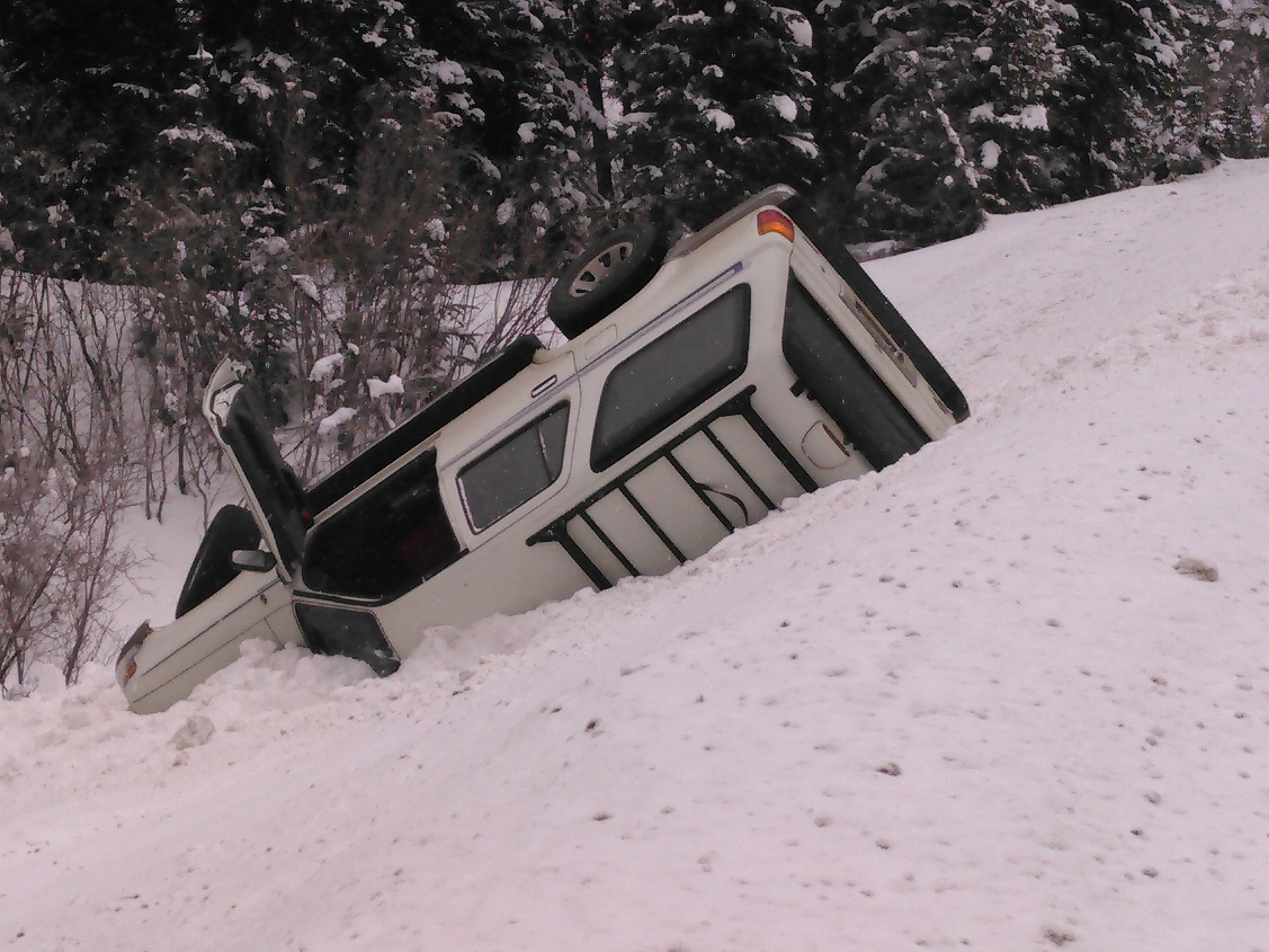 SUV Rollover Photo. Courtesy of Jay Nygard