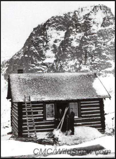 Courtesy Photo U.S. Forest Service First Creek Cabin, Colorado, 1935. Located near Berthoud Pass in east central Colorado. Berthoud used to have ski lifts, now it's one of Colorado's most popular and best ski touring zones.