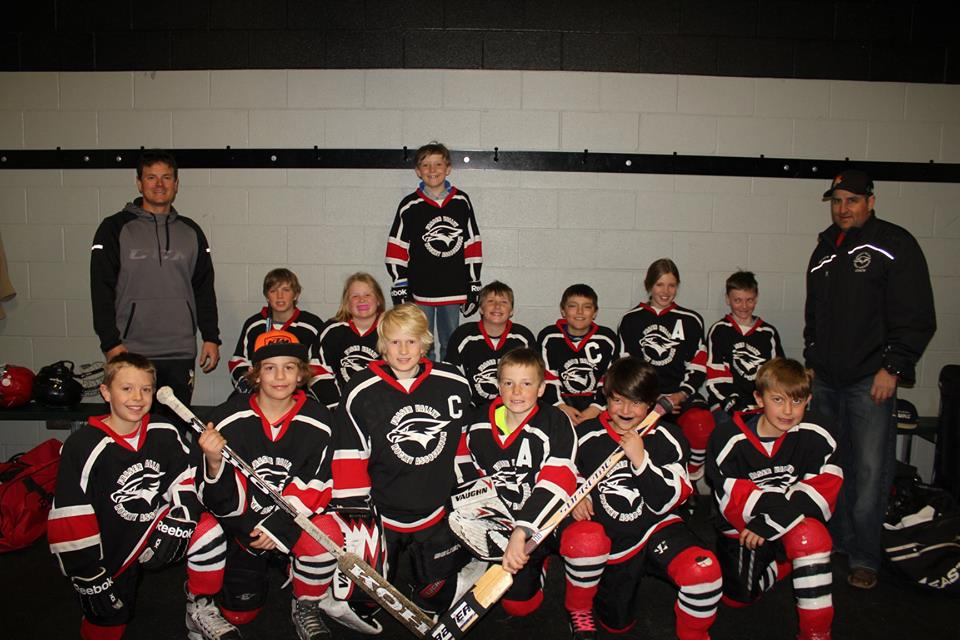 Fraser Valley Hockey Association Squirts Team Photo   Courtesy of FVHA