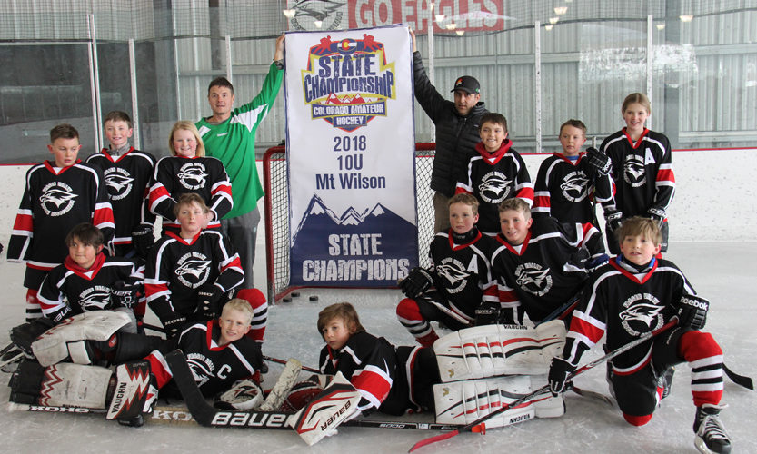 Congratulations to State Champions, the Fraser Valley Squirts' Red Team! - photo by Casey Malon