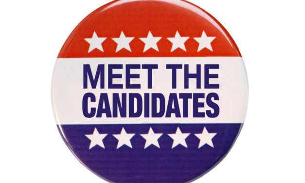 Upcoming Candidate Forums Scheduled
