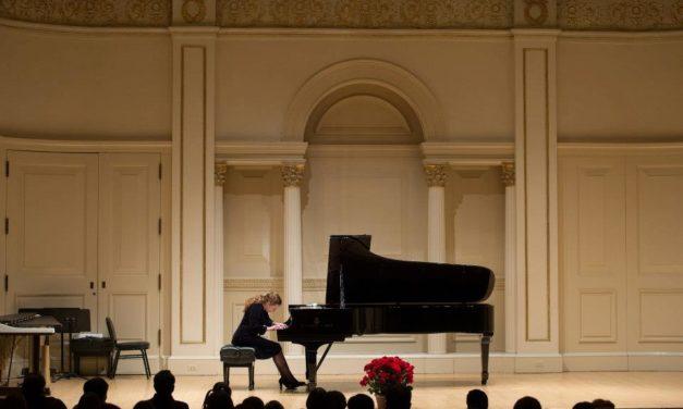 Ukrainian Pianist Liana Paniyeva performs Friday March 23, 2018 at Church of Eternal Hills.