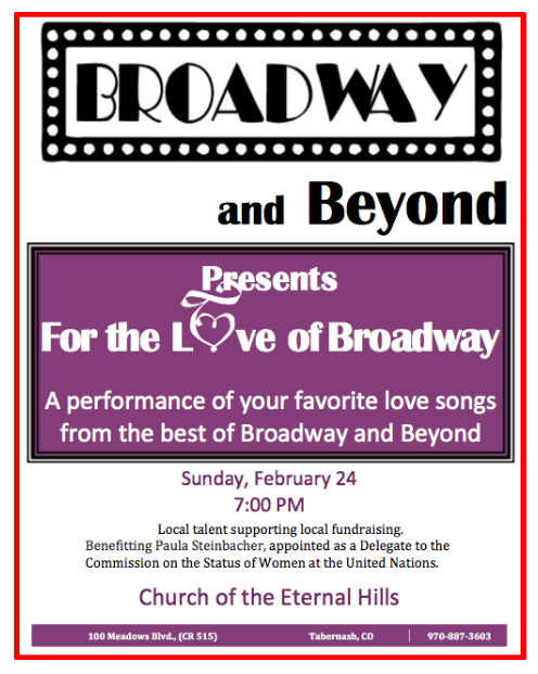 Broadway and Beyond Benefit