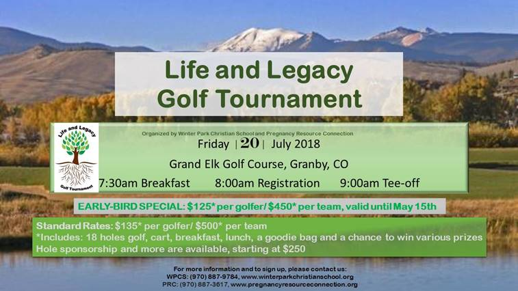 Life and Legacy Golf Tournamnet