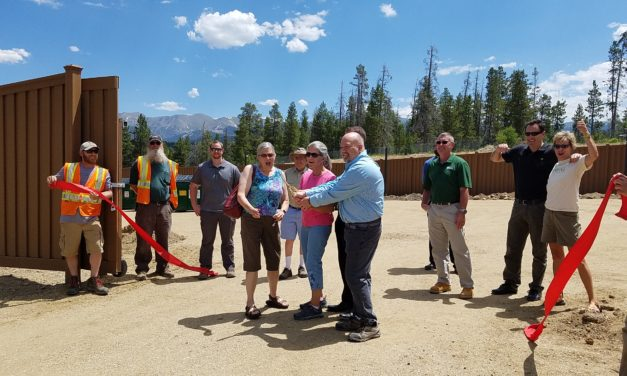 Ribbon-cutting at The Drop