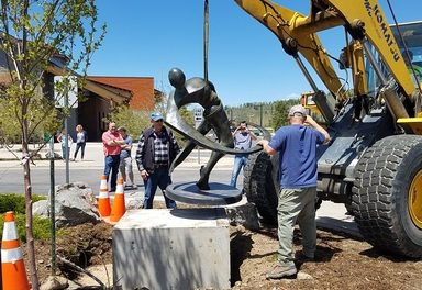 Three new Sculptures placed in Fraser