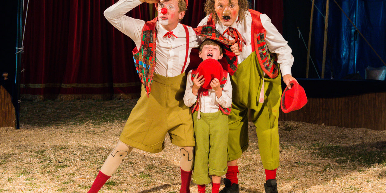 Giovanni Zoppe's real-life family circus