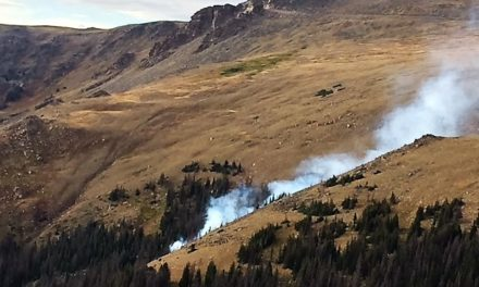 Two Small Fires Burning in Rocky Mountain National Park