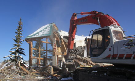 Rendezvous completes demolition: History in the making
