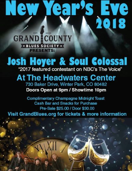 New Year's Eve Party with Josh Hoyer & Soul Colossal