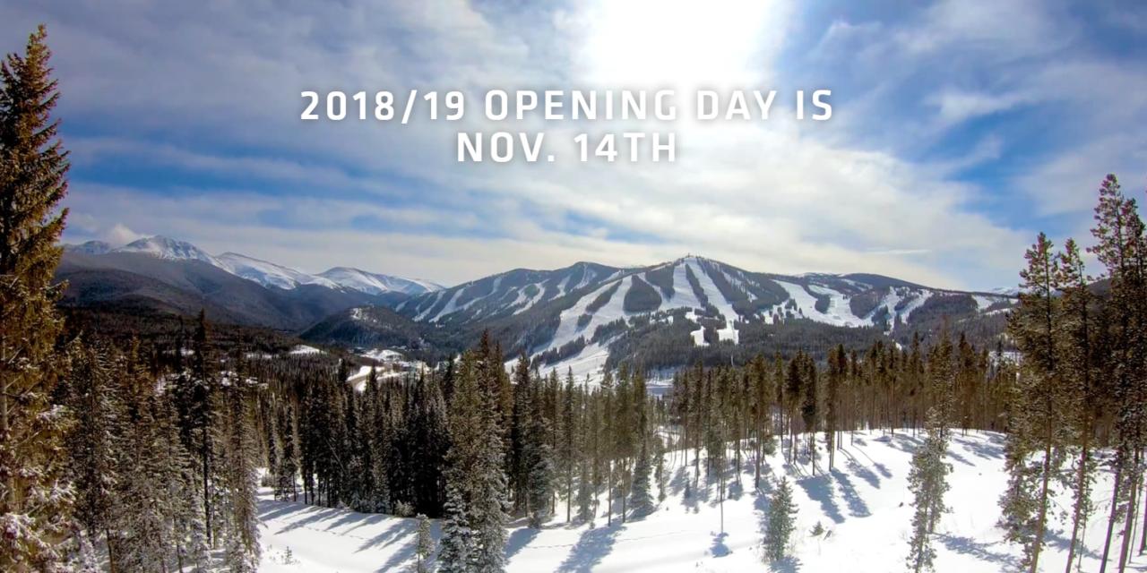 Winter Park Resort firing up for the season