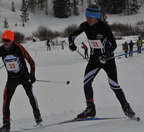 Colorado High School Ski League at Snow Mountain Ranch