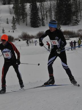 Colorado High School Ski League at Snow Mountain Ranch