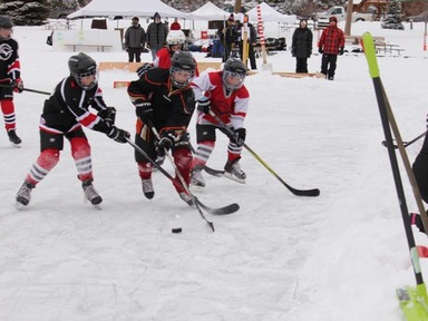 2nd annual Grand Lake Pond Hockey Classic this weekend