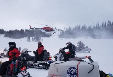 Woman injured in snowmobile accident