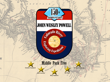 THE MIDDLE PARK FIVE: 1867-1869 POWELL EXPEDITIONS