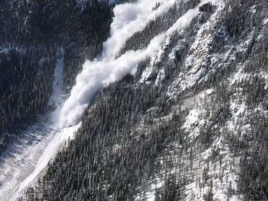 Disney slide: Avalanche mitigation causes snow to pile on highway for first time since 1957