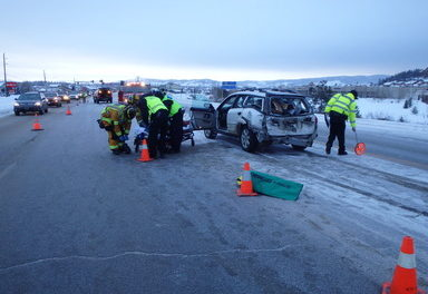 Accidents on the rise. Winter driving, weed or other distractions?