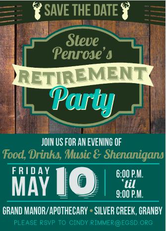 Steve Penrose Retirement Party