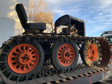 Colorado Snowsports Museum and Groswold Ski Company Team Up To Save Antique Snowcat