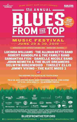 17th Annual Blues From The Top Music Festival