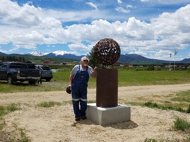 New sculpture added to Fraser's arts collective