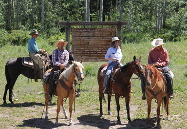 Grand County's past with History on Horseback