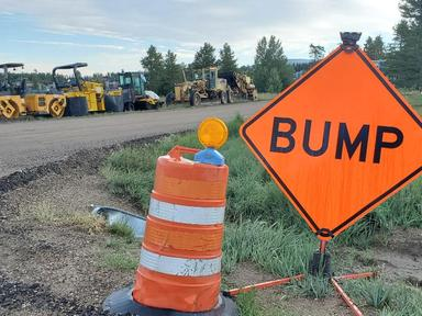 County paving projects back on track this weekend