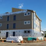 Granby's Dairy Apartments go up in a matter of hours