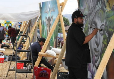 Fraser's first Mural Fest connects community with artists