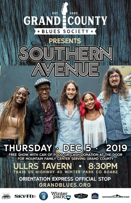 Southern Avenue - Food Drive & Blues Show