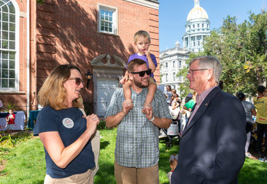 Granby family rallies for babies at state capitol