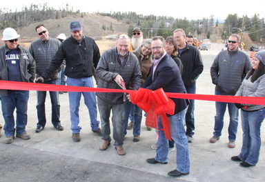 County Road 8 Bridge completed ahead of schedule